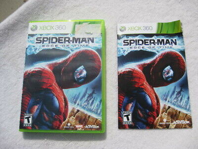 BOX ONLY NO GAME Spider-Man: Edge of Time (Microsoft Xbox 360, 2011)