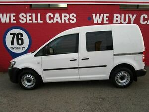 2013 Volkswagen Caddy 2KN MY13 TDI250 SWB DSG White 7 Speed Sports Automatic Dual Clutch Van Welshpool Canning Area Preview