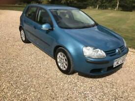 2006 (06) Volkswagen Golf 1.6 FSI SE ONLY 2 PRIVATE OWNERS FULL SERVICE HISTORY