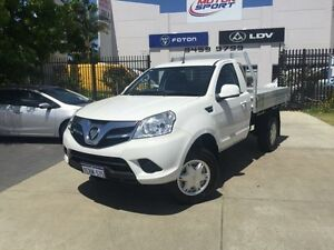 2014 Foton Tunland P201 MY14 (4x4) White 5 Speed Manual C/Chas Tray Beckenham Gosnells Area Preview