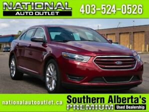 2018 Ford Taurus Limited - HEATED LEATHER - AWD - CLEAN CAR FAX