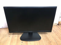 "HannsG HE225DPB 21.5"" Full HD 1080P LED Monitor with Speakers SEVERAL AVAILABLE!!"