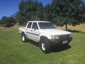 1990 Toyota Hilux Ute NEGOTIABLE Burnside Burnside Area Preview