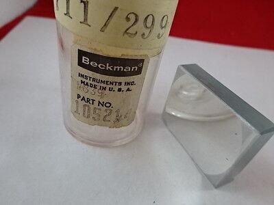 Beckman Instrument Spectral Optical Concave Mirror Laser Optics L2-b-14