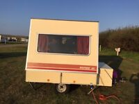 Rapido Confortmatic Folding Caravan 4 berth