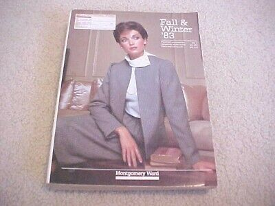 1983 MONTGOMERY WARD LARGE FALL AND WINTER  CATALOG