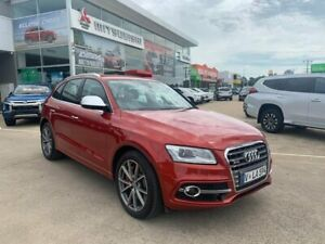 2015 Audi SQ5 8R MY15 TDI Tiptronic Quattro Red 8 Speed Sports Automatic Wagon Hoppers Crossing Wyndham Area Preview