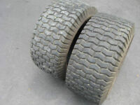 23/9.5/12 Used Turf Tires for Lawn Tractor