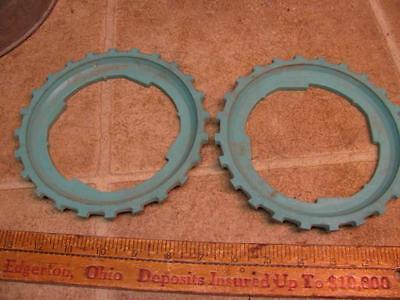 2 John Deere B10-24 Corn Planter Plates Lustran Plastic 494 694 24b 25b 71