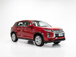 2019 Mitsubishi ASX XD MY20 ES 2WD Red 6 Speed Constant Variable Wagon Glenorchy Glenorchy Area Preview