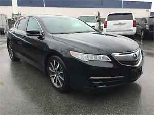 2015 Acura TLX (Just under 28,000) Black