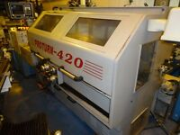 XYZ PROTURN 420 SEMI CNC TEACH LATHE YEAR 2001