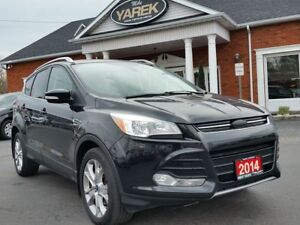 2014 Ford Escape Titanium 4WD, Leather Heated Seats, Pano Roof,