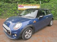 Mini Hatchback 1.5 Cooper 3DR (deep blue/black roof) 2014