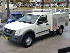 2006 Holden Rodeo RA MY06 LX White Automatic Cab Chassis