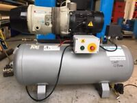 HYDROVANE 502 QUIET VANE TYPE INDUSTRIAL AIR COMPRESSOR