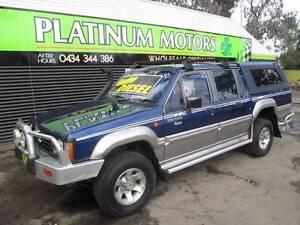 12/ 1994 Mitsubishi Triton Turbo Diesel Dual cab Ute Salisbury Downs Salisbury Area Preview