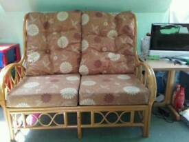 Bamboo 2 seater sofa