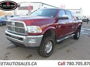 2012 Ram 3500 Laramie 4x4 Mega Cab LIFTED DIESEL !! Edmonton Edmonton Area image 1