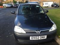 2002 Vauxhall Corsa 1.2 Automatic for sale