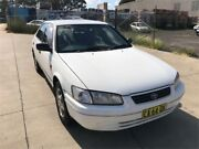 2002 Toyota Camry MCV20R Advantage Limited Edition CSi White 5 Speed Manual Sedan Greenacre Bankstown Area Preview