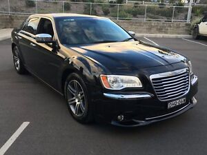 2012 Chrysler 300 LX MY12 Limited E-Shift Black 8 Speed Sports Automatic Sedan Lisarow Gosford Area Preview
