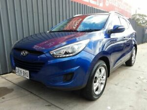 2014 Hyundai ix35 LM3 MY15 Active Blue 6 Speed Sports Automatic Wagon Blair Athol Port Adelaide Area Preview