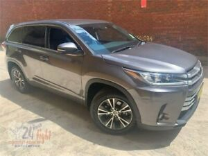 2018 Toyota Kluger GSU50R GX 2WD Grey 8 Speed Sports Automatic Wagon Campbelltown Campbelltown Area Preview