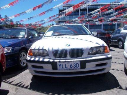 2000 BMW E46 E46 M Sport White 4 Speed Auto Steptronic Sedan