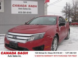 2010 Ford Fusion, AUTO, 129K, CRUISE, 12 M WRTY+SAFETY $5490