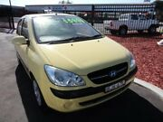 2008 Hyundai Getz TB MY09 SX Yellow 4 Speed Automatic Hatchback Wagga Wagga Wagga Wagga City Preview