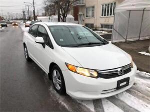 2012 HONDA CIVIC- automatic- FULL EQUIPER-  MEC A1-  7500$ **