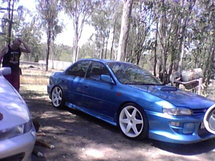 Subaru impreza t2 turbo manual Hatton Vale Lockyer Valley Preview