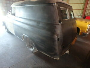 1958 CHEV PANEL TRUCK PROJECT