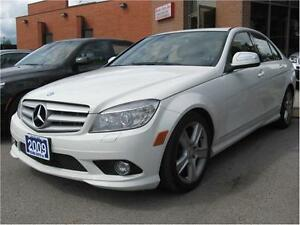 2009 Mercedes-Benz C-Class 3.0L 4MATC 129KM 100% FINANCE APROVAL
