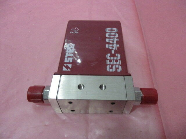STEC SEC-4400M Mass Flow Controller, MFC, SiF4, 100 SCCM, SEC-4400, 424918