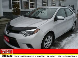 2015 Toyota Corolla LE $17495.00 with $2K Down or Trade-in*