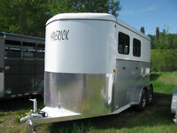 2 Horse Trailer Warmblood Size