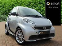 smart fortwo coupe PASSION CDI (silver) 2013-10-04