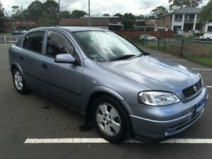 2004 Holden Astra TS CD Blue 5 Speed Manual Sedan Revesby Bankstown Area Preview