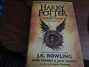 HARRY POTTER AND THE CURSED CHILD HARD COVER NEW