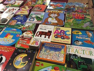 HUGE LOT 30+ Children's BOARD BOOKS Infant Toddler Preschool Baby Daycare