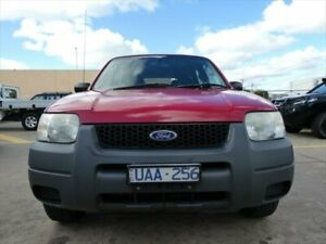 2005 Ford Escape XLS Red Automatic Wagon South Geelong Geelong City Preview