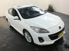 2014 Mazda 3 BL MY13 SP25 White 5 Speed Automatic Sedan Clemton Park Canterbury Area Preview