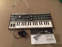 MicroKorg - great condition - vocoder mic, mains adapter, manual