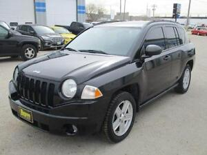 2007 JEEP COMPASS 4WD, SAFETY & WARRANTY, HEATED SEATS, $5,450