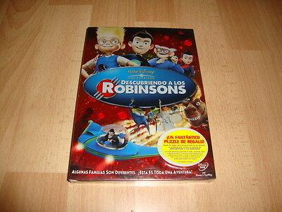 DESCUBRIENDO A LOS ROBINSONS DE WALT DISNEY CLASICO 49 EN DVD NUEVO...