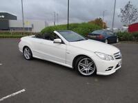 Mercedes-Benz E350 3.0CDI ( 231bhp ) BlueF Aut CDI Sport CONVERTIBLE