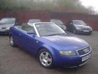 2004 Audi A4 Cabriolet 1.8T+5 stamps+nice miles85k+lovely colour
