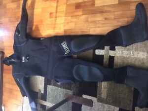 DRY SUIT - Oceaner 7mm - VERY GOOD CONDITION